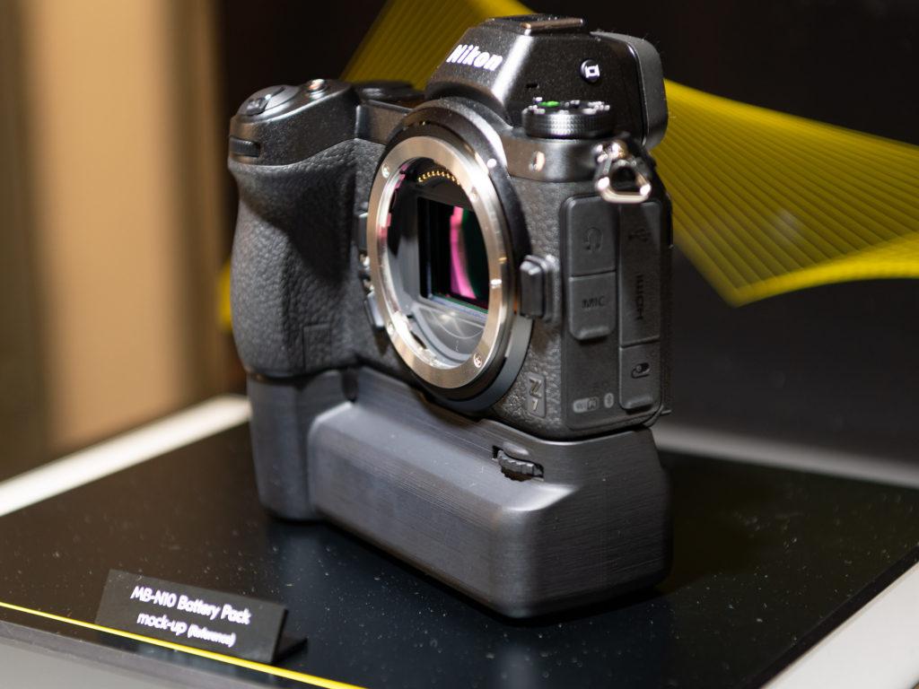 This is the Nikon Z7 and Z7 battery grip (mockup) – NikonEye com