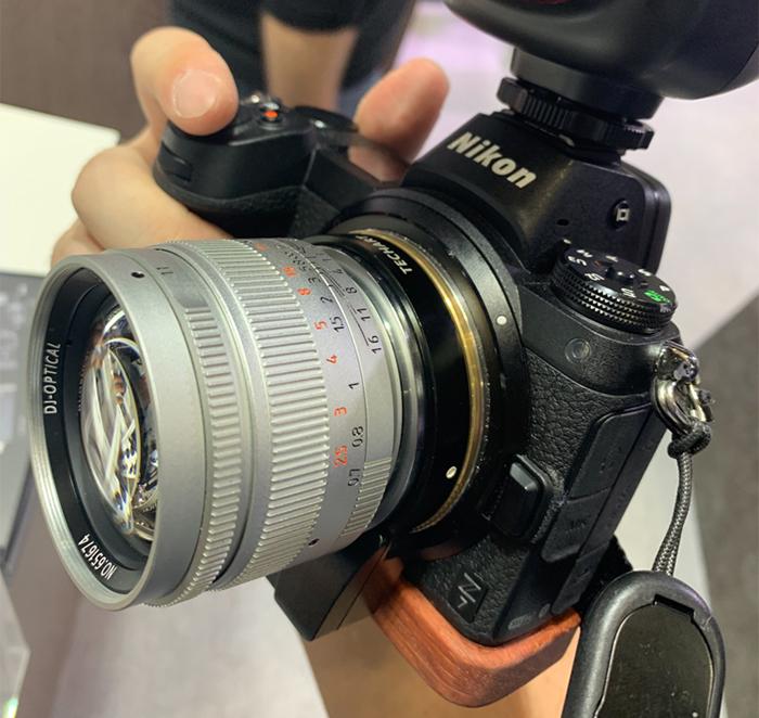 Techart also shows the first Leica M to Nikon Z autofocus adapter